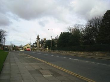 Looking up Bebington Road